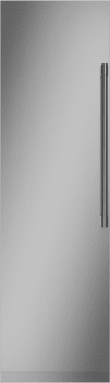Monogram ZK1SN249NLH 24 Inch Fully Integrated Column Stainless Steel Door Panel, Left Hinge