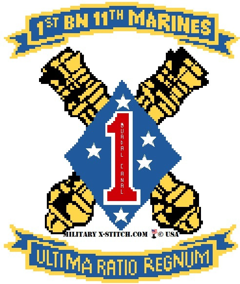 Marines, 1-11th Insignia PDF