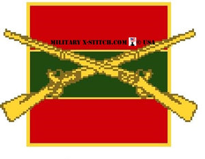 Infantry, 1-4th Regiment Insignia