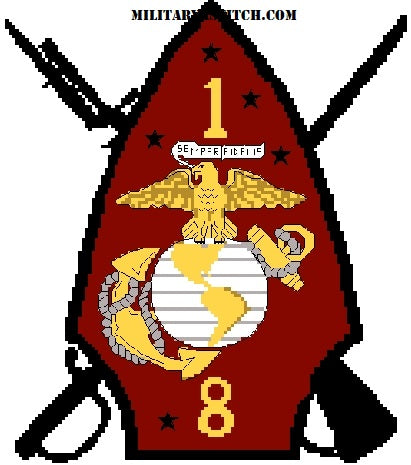 Marines, 1-8th Insignia PDF