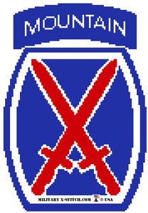 Infantry, 10th Mountain Light Insignia