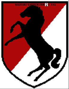 Armored Cavalry 11th ACR Insignia