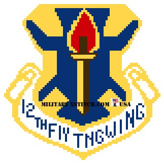 Flying Training, 12th Wing Insignia PDF
