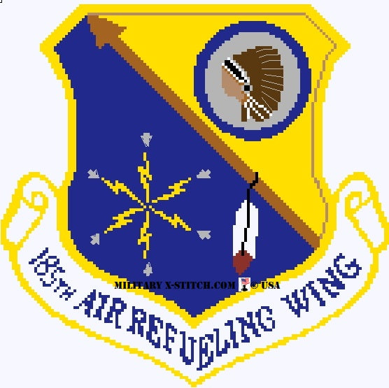Air Refueling Wing, 185th Insignia PDF