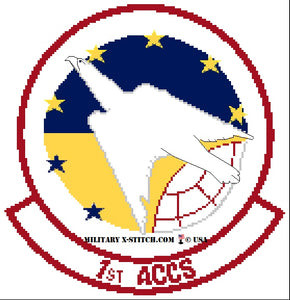 Airborne Command and Control Squadron (ACCS), 1st Insignia