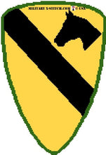 Cavalry, 1st Insignia (Sleeve)