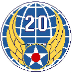 Air Force, 20th Insignia