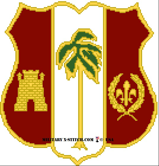 Air Defense Artillery (ADA) 250th Insignia