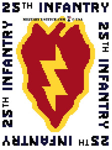 Infantry, 25th Division Insignia