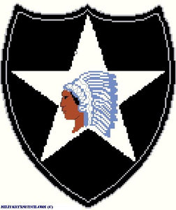 Infantry, 2nd Division Insignia