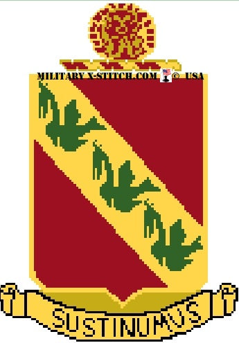 Air Defense Artillery (ADA), 3-43rd Insignia