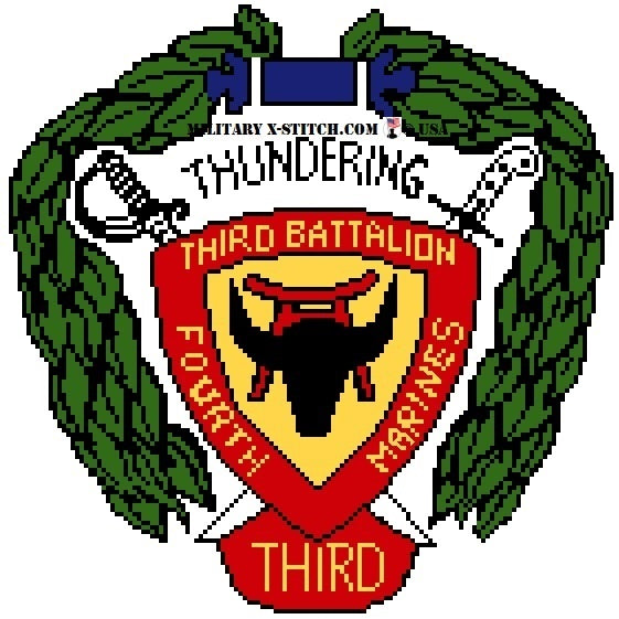 Marines, 3-4th Insignia