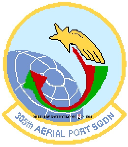 Aerial Port Squadron (APS), 305th Insignia PDF