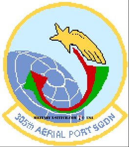 Aerial Port Squadron (APS), 305th Insignia