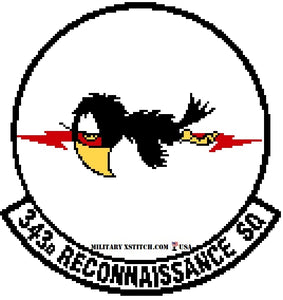 Reconnaissance, 343rd Squadron Insignia PDF