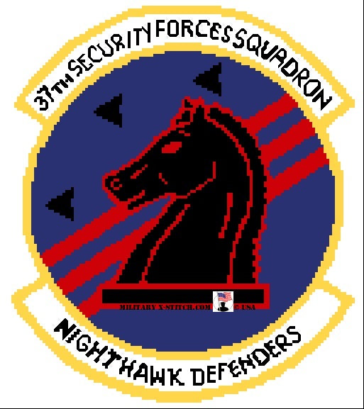 Security Forces, 37th Squadron Insignia PDF