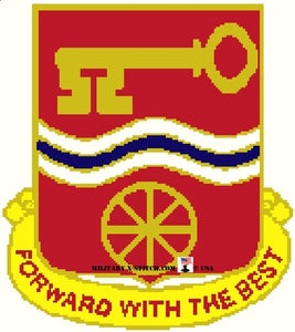 Forward Support Battalion (FSB), 40th Insignia
