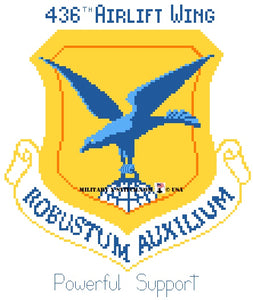 Airlift Wing, 436th Insignia