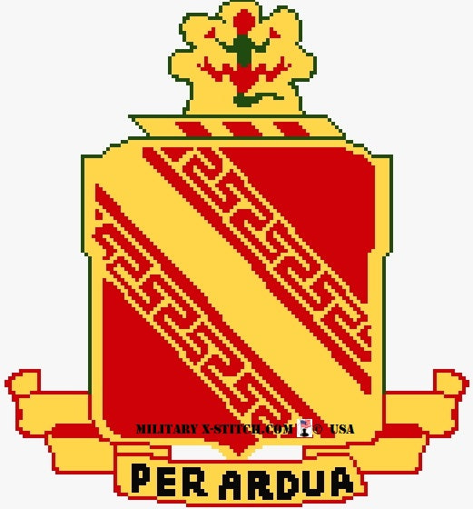 Air Defense Artillery 44th (ADA) Insignia