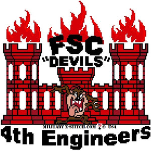 Engineers FSC, 4th Insignia