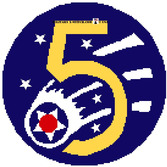 Army Air Corps, 5th (USAAF, USAAC) Insignia