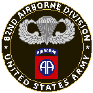 Airborne, 82nd Division With Jump Wings