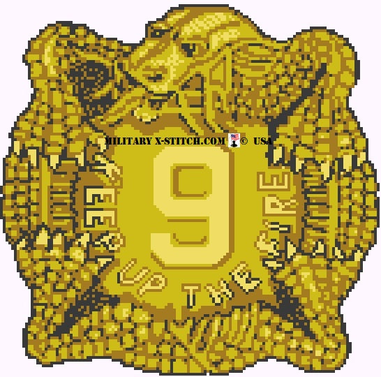 Infantry, 9th Division Insignia