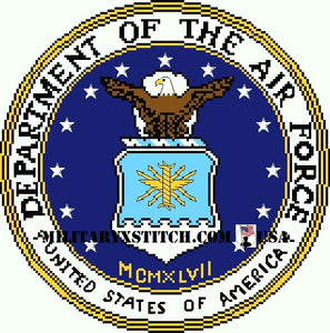 Department of the Air Force Seal 10 in.