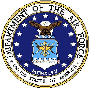 Department of the Air Force Seal 14 in.