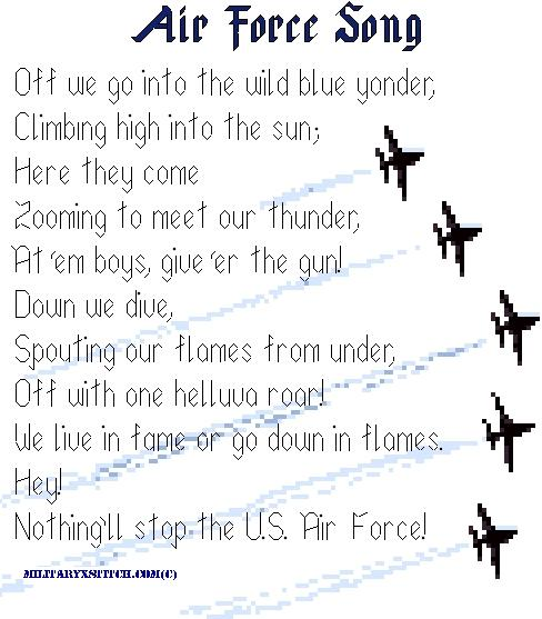 Air Force Song PDF