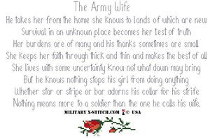 Army Wife Poem Kit