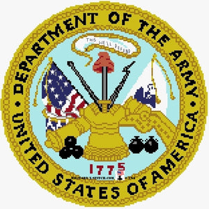 Department of the Army Seal 11 in.