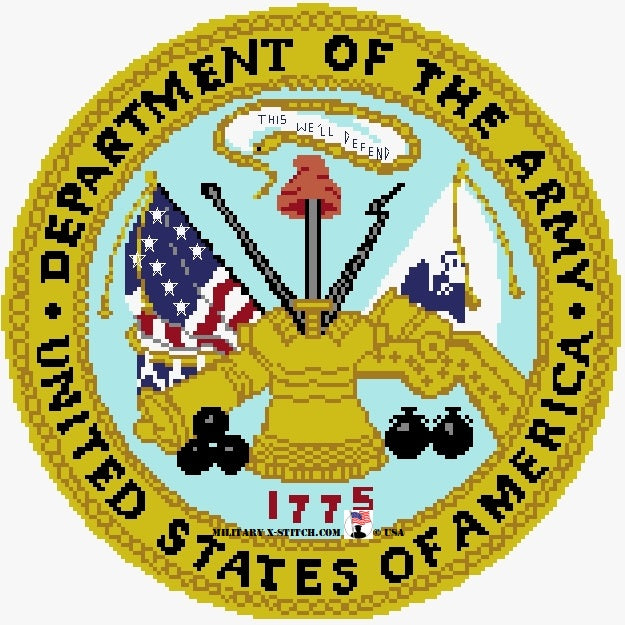 Department of the Army Seal 11 in. PDF