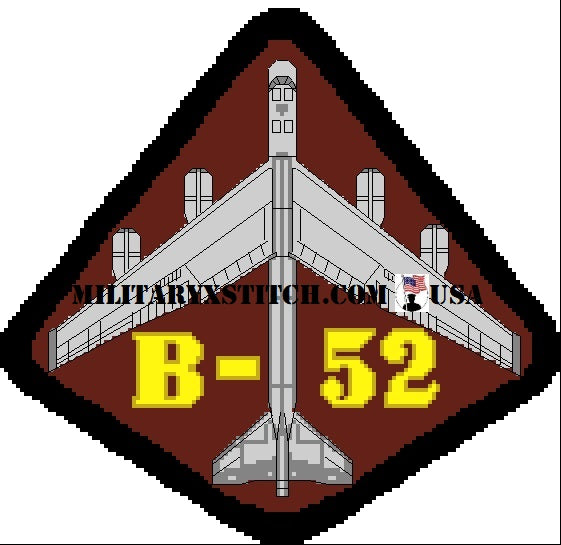 B-52 on patch Insignia