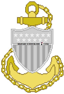 Coast Guard CPO Insignia