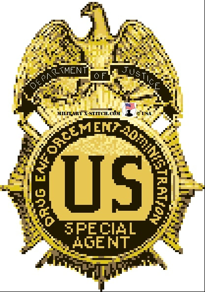 Drug Enforcement Administration (DEA) Insignia