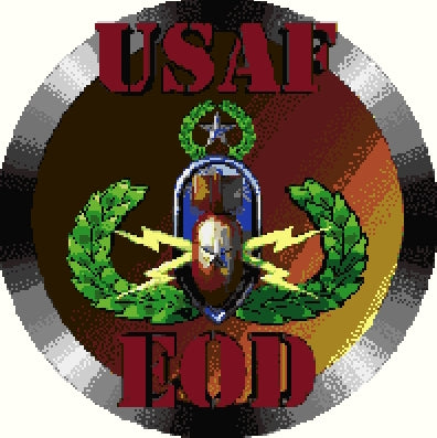 EOD USAF Badge Insignia