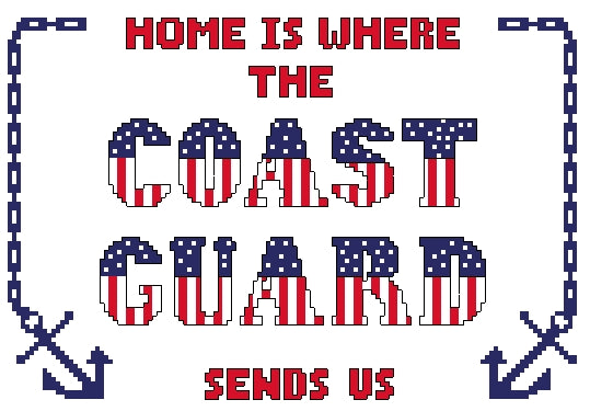 Home Is ... Coast Guard Kit