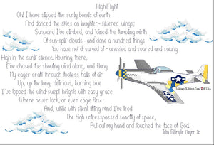 High Flight Poem with P-51 PDF