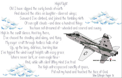 High Flight Poem with T-38 PDF