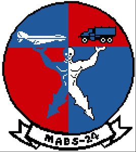 Marine Air Base Squadron 24 (MABS-24) Emblem