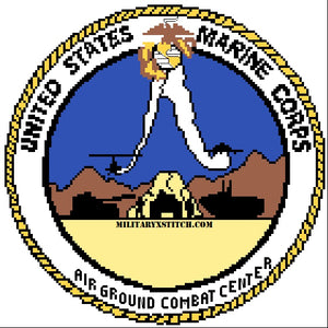 Marine Corps Air Ground Combat Center Insignia