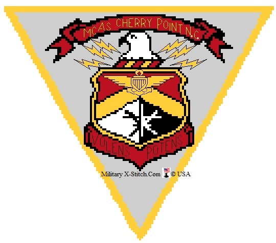 MCAS Cherry Point Insignia PDF