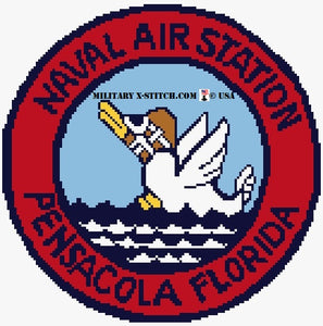 Naval Air Station Pensacola Florida Insignia