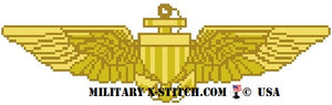 Aviator Wings Insignia - MC/Naval