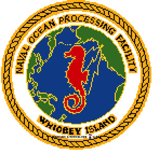 Naval Ocean Processing Facility Insignia