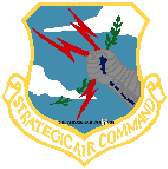 Strategic Air Command (SAC) Insignia