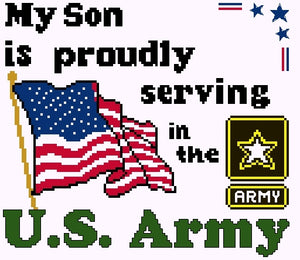 Proudly Serving Army Kit
