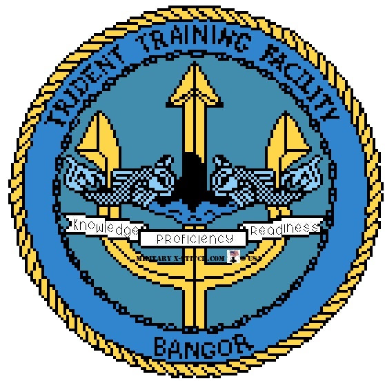 Trident Training Facility Sub Base Bangor Insignia