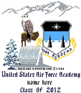 USAFA with Academy Patch